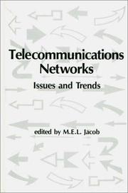Cover of: Telecommunications Networks | M.E.L. Jacob