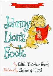 Cover of: Johnny Lion's Book by Jean Little