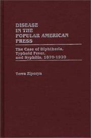 Disease in the popular American press