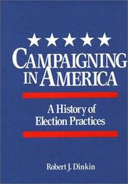 Cover of: Campaigning in America