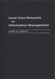 Cover of: Local area networks in information management