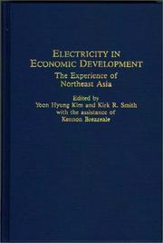 Cover of: Electricity in Economic Development