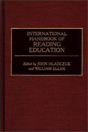 Cover of: International handbook of reading education |
