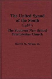 Cover of: United Synod of the South | Harold M. Parker