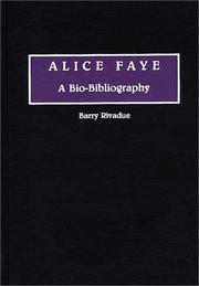 Cover of: Alice Faye