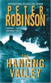 Cover of: Hanging Valley by Peter Robinson