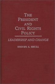 Cover of: The President and civil rights policy