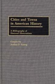 Cover of: Cities and towns in American history