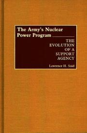 Cover of: Army