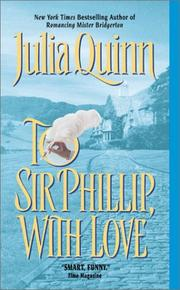 Cover of: To Sir Phillip, with Love