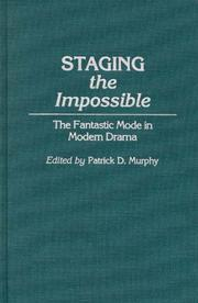 Cover of: Staging the Impossible