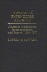 Cover of: Toward an entangling alliance