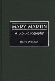 Cover of: Mary Martin