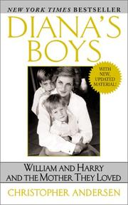 Cover of: Diana's boys | Christopher P. Andersen