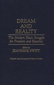 Cover of: Dream and Reality | Jeannine Swift
