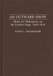 Cover of: outward show | Randy L. Neighbarger
