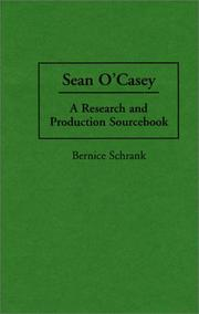 Cover of: Sean O