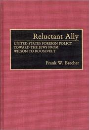 Cover of: Reluctant ally | Frank W. Brecher