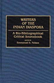 Cover of: Writers of the Indian Diaspora