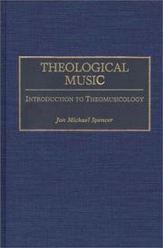 Cover of: Theological music by
