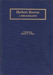 Cover of: Herbert Hoover