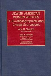 Cover of: Jewish American Women Writers
