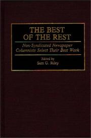 Cover of: The Best of the Rest | Sam G. Riley