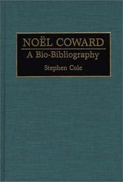 Cover of: Noël Coward