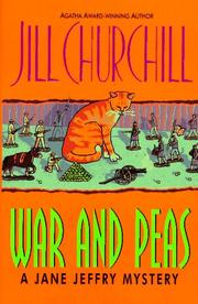 Cover of: War and peas