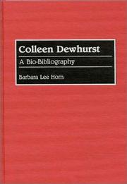 Cover of: Colleen Dewhurst