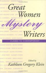 Cover of: Great Women Mystery Writers