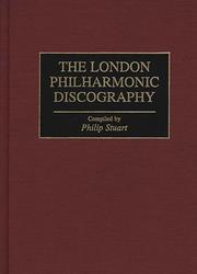 Cover of: The London Philharmonic discography