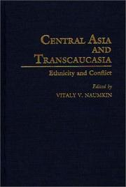 Cover of: Central Asia and Transcaucasia
