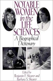 Cover of: Notable women in the life sciences |