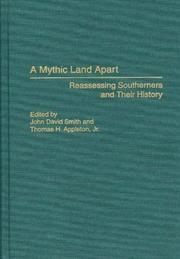 Cover of: A mythic land apart