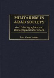 Cover of: Militarism in Arab society