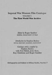 Imperial War Museum Film Catalogue I