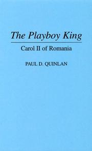 The playboy king by Paul D. Quinlan