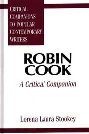 Cover of: Robin Cook