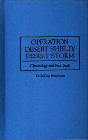 Cover of: Operation Desert Shield/Desert Storm