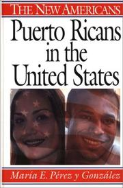Cover of: Puerto Ricans in the United States