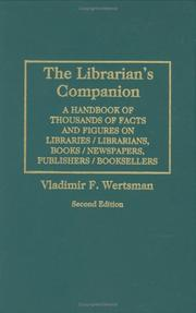 Cover of: The librarian's companion