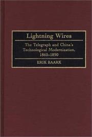 Cover of: Lightning wires