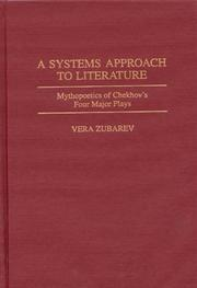 Cover of: A systems approach to literature