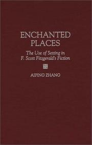 Cover of: Enchanted places | Aiping Zhang