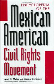 Cover of: Encyclopedia of the Mexican American civil rights movement