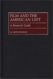 Cover of: Film and the American left