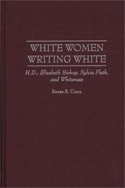 Cover of: White women writing white