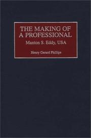 Cover of: The making of a professional