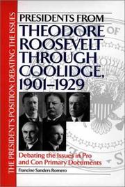 Cover of: Presidents from Theodore Roosevelt through Coolidge, 1901-1929 |